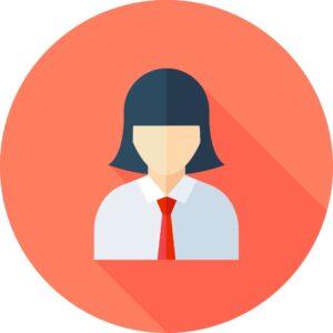 icona che rappresenta una donna per le recensioni