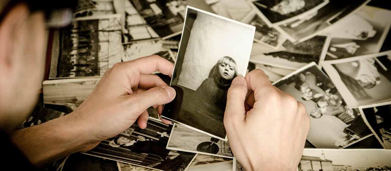 Stampa di fotografiche vecchie per ricordare